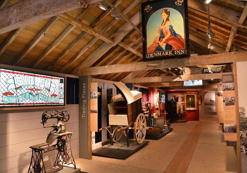 Somerset Rural Life Museum - Trading Places Gallery